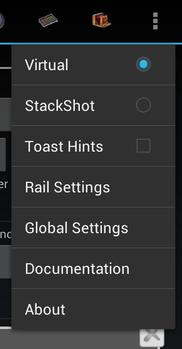 Android-Main-rail select