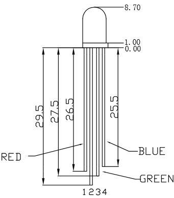 LED pins